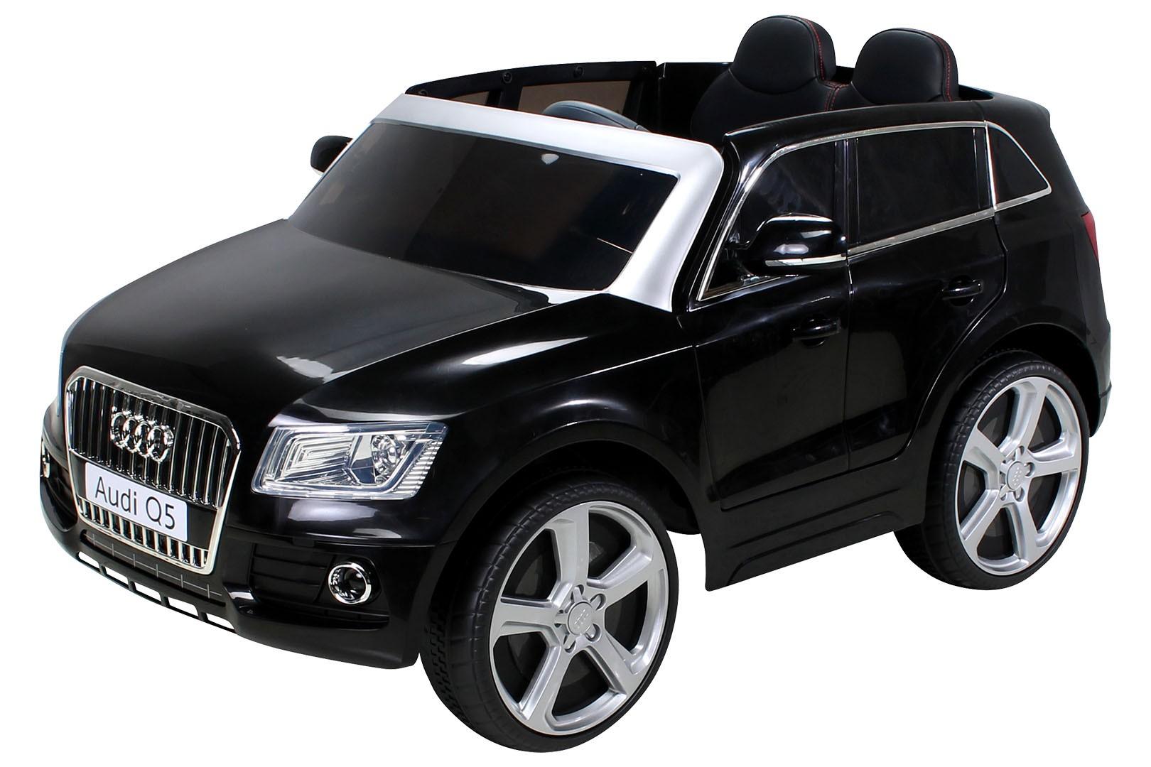 voiture lectrique audi q5 noir 2x35w 12v. Black Bedroom Furniture Sets. Home Design Ideas