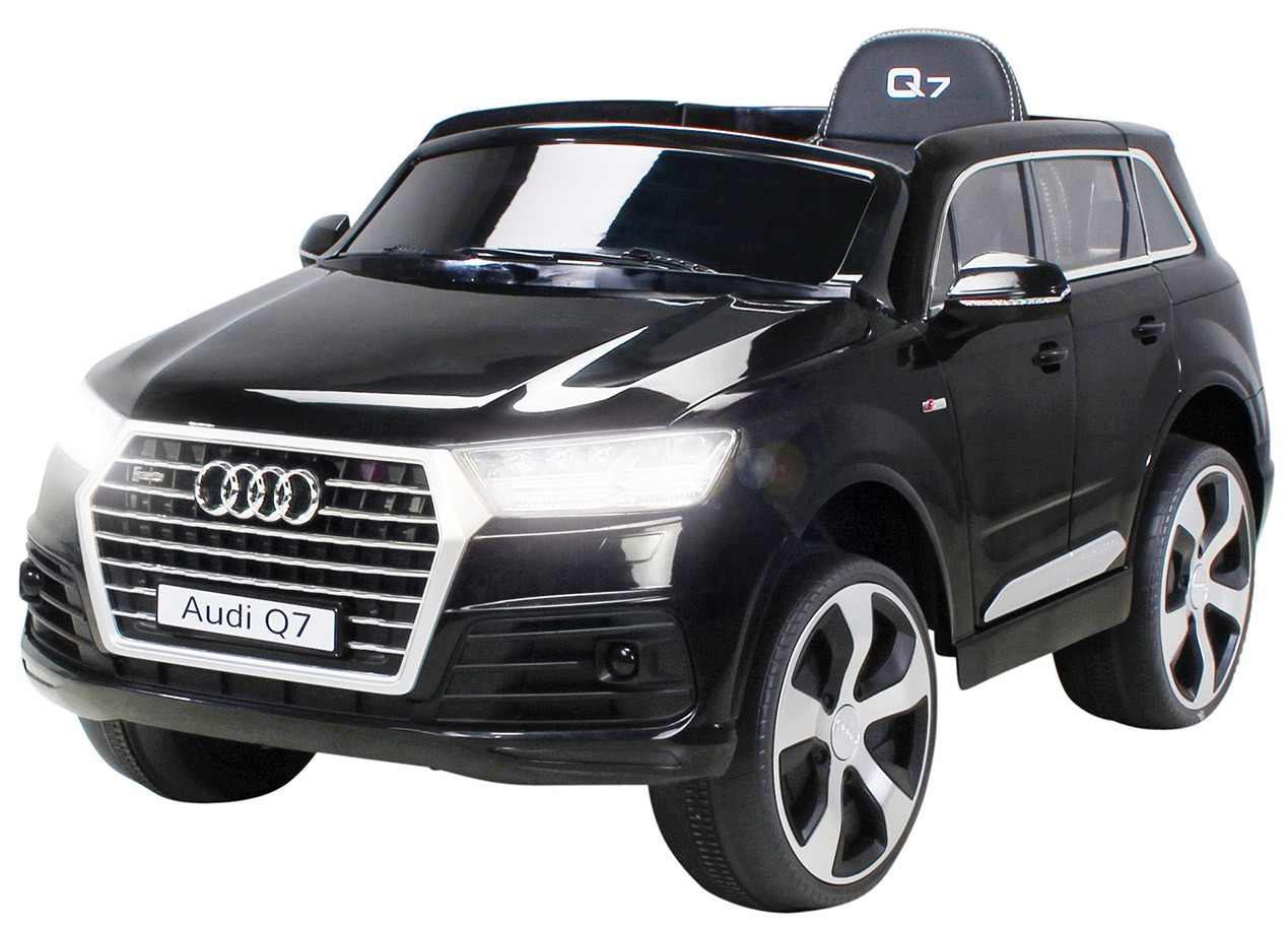 voiture lectrique audi q7 noir 2x35w 12v. Black Bedroom Furniture Sets. Home Design Ideas