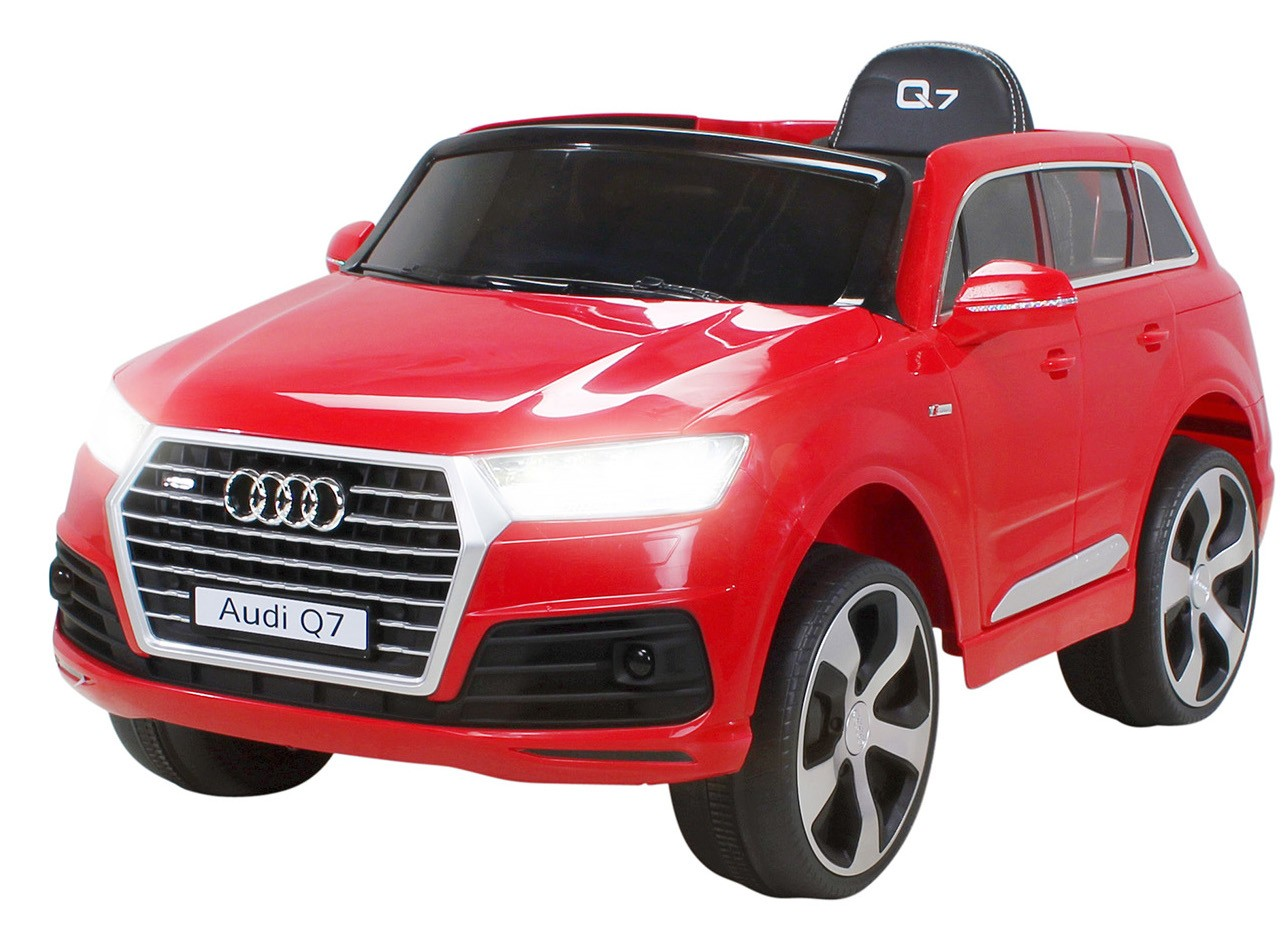 voiture lectrique audi q7 rouge 2x35w 12v. Black Bedroom Furniture Sets. Home Design Ideas