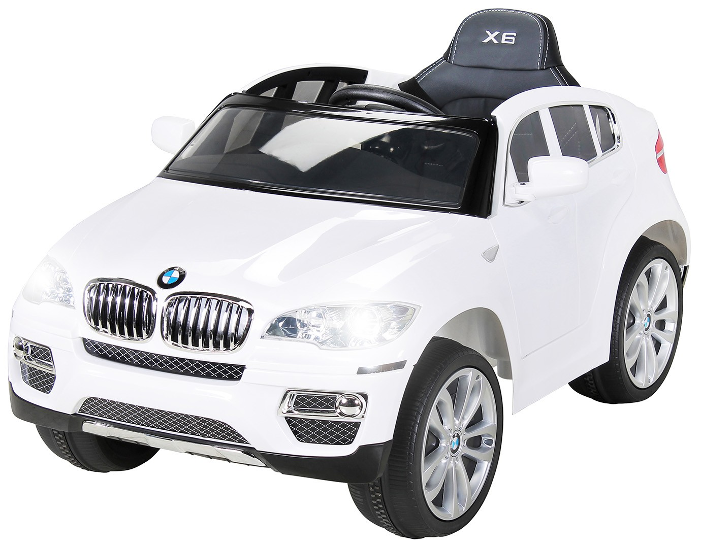 voiture lectrique bmw x6 blanc. Black Bedroom Furniture Sets. Home Design Ideas