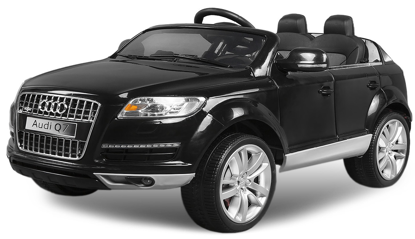 voiture lectrique enfant audi q7 noir. Black Bedroom Furniture Sets. Home Design Ideas