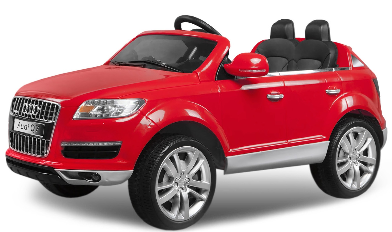 voiture lectrique enfant audi q7 rouge. Black Bedroom Furniture Sets. Home Design Ideas