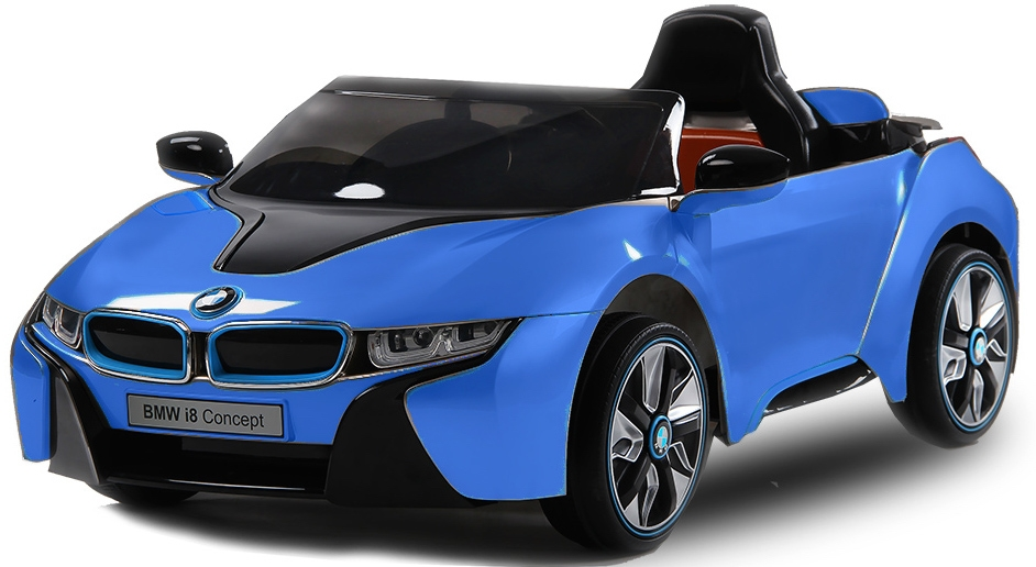 voiture lectrique enfant bmw i8 bleu. Black Bedroom Furniture Sets. Home Design Ideas