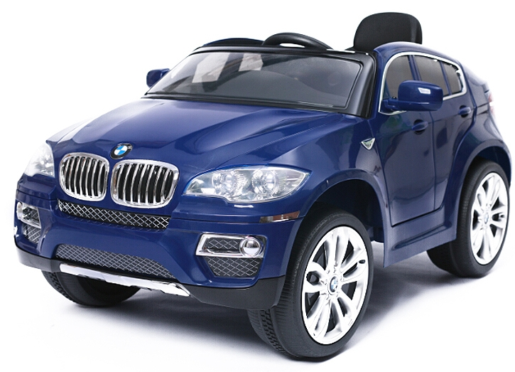 voiture lectrique enfant bmw x6 bleu. Black Bedroom Furniture Sets. Home Design Ideas