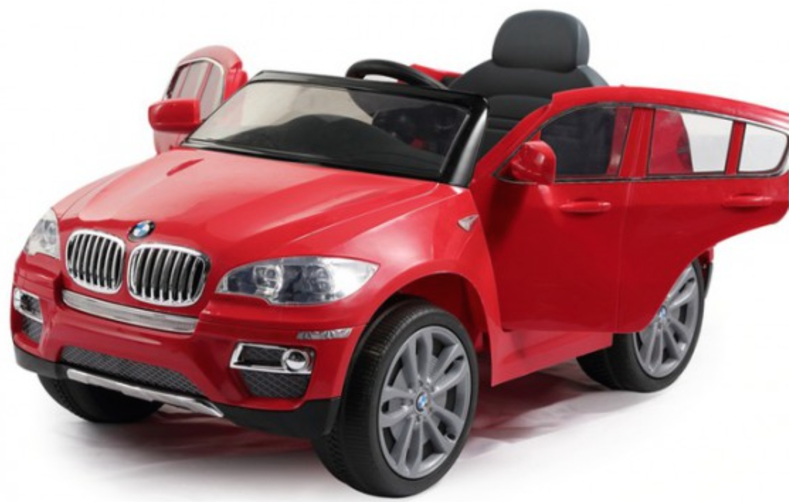 voiture lectrique enfant bmw x6 rouge. Black Bedroom Furniture Sets. Home Design Ideas