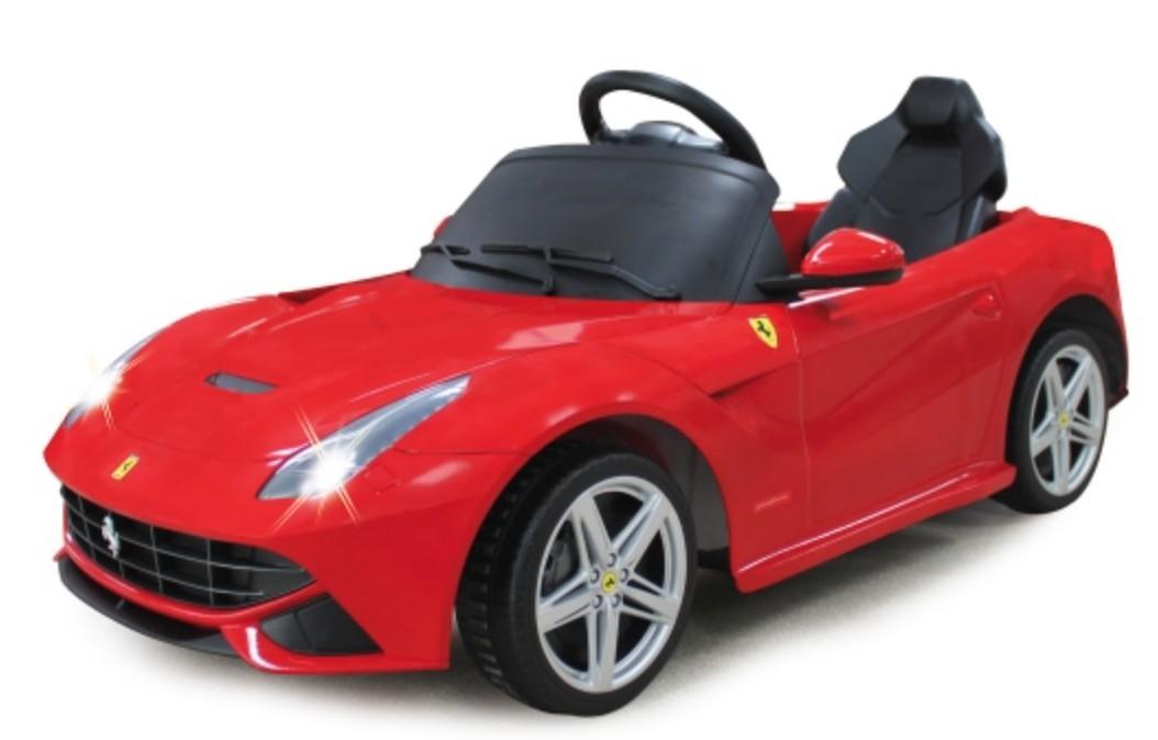 voiture lectrique ferrari f12 berlinetta rouge 1x25w 12v. Black Bedroom Furniture Sets. Home Design Ideas