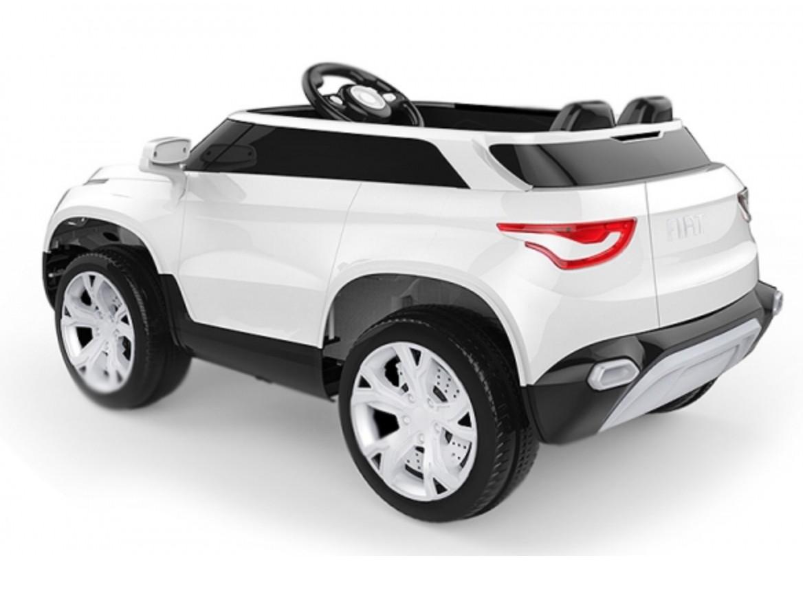 voiture lectrique fiat fcc4 blanc 2x15w 12v. Black Bedroom Furniture Sets. Home Design Ideas