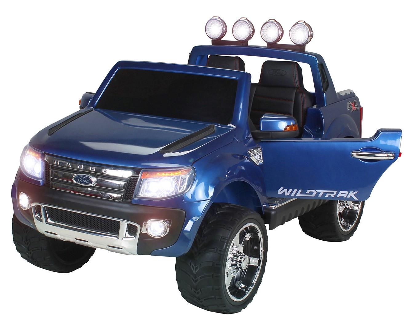voiture lectrique ford ranger bleu 2x35w 12v. Black Bedroom Furniture Sets. Home Design Ideas