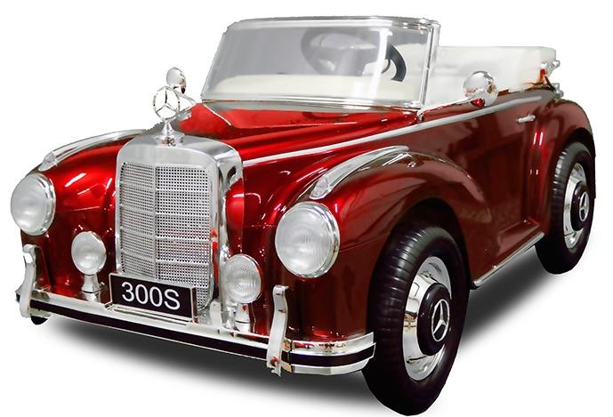 voiture lectrique mercedes 300 s luxe rouge 2x35w 12v. Black Bedroom Furniture Sets. Home Design Ideas