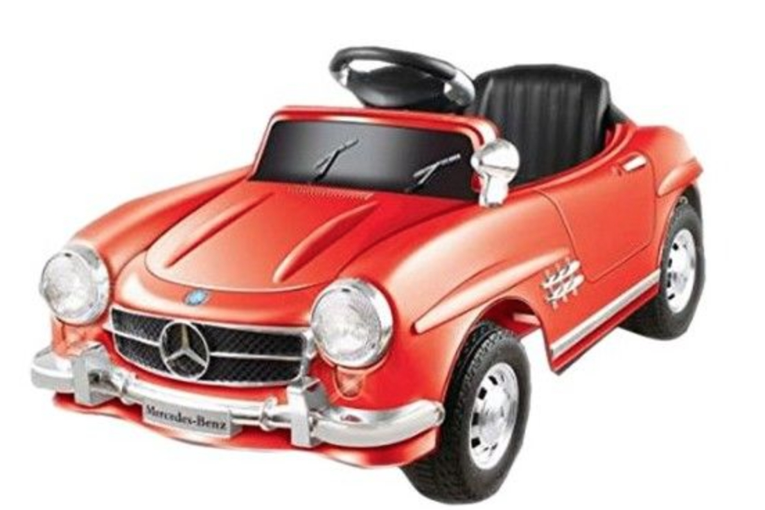 voiture lectrique mercedes 300sl rouge. Black Bedroom Furniture Sets. Home Design Ideas