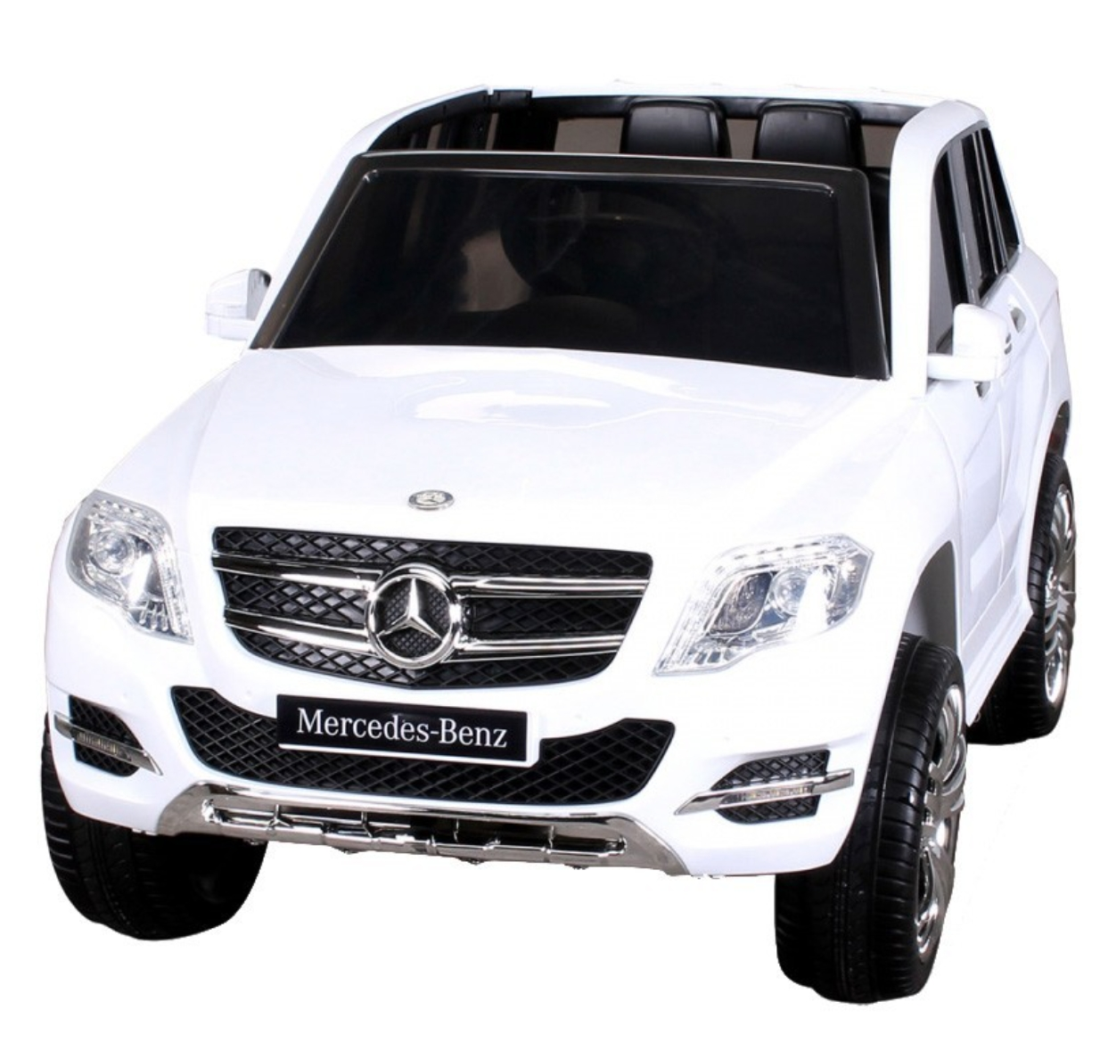 voiture lectrique mercedes glk amg blanc. Black Bedroom Furniture Sets. Home Design Ideas