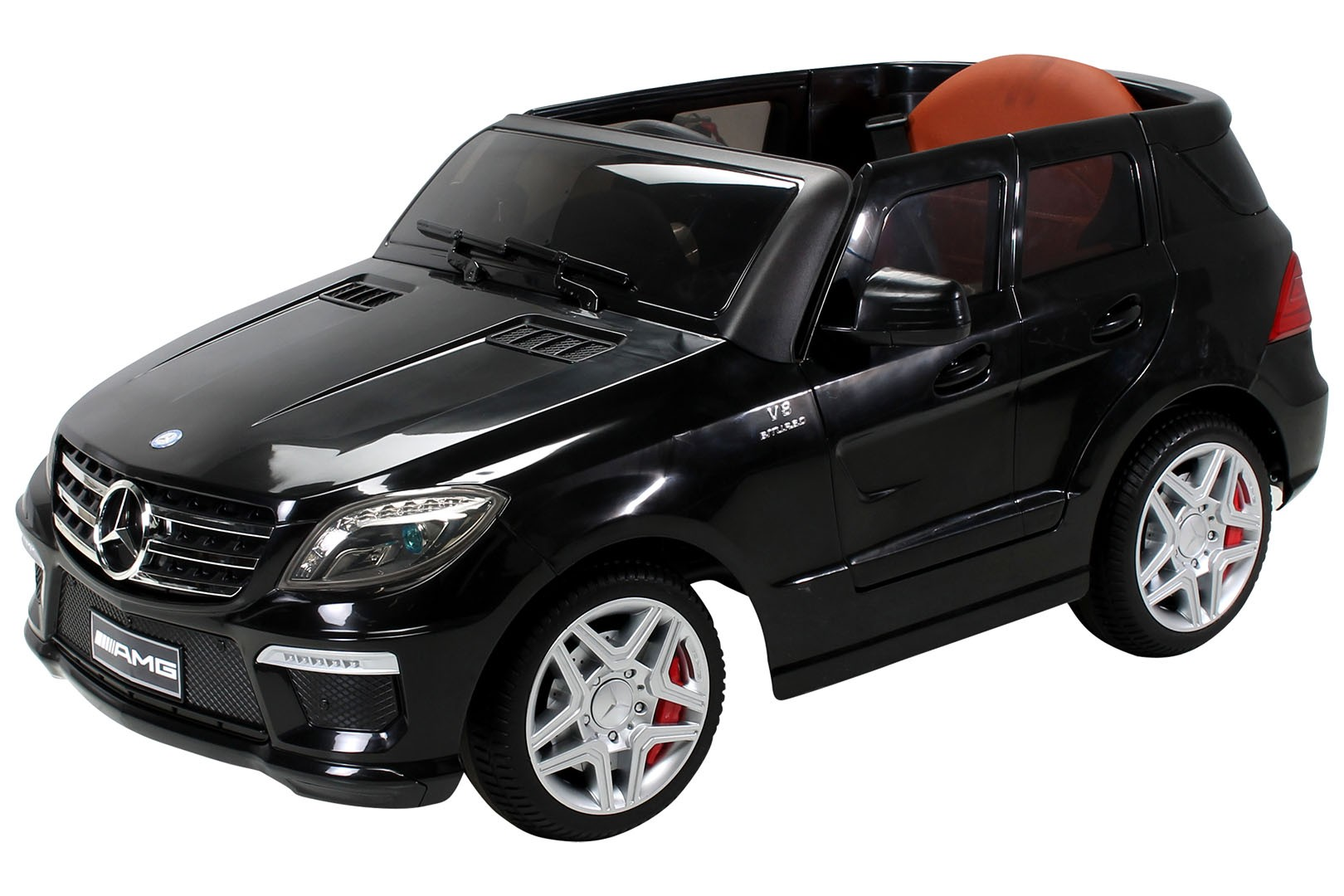 voiture lectrique mercedes ml63 amg 2x35w 12v noir. Black Bedroom Furniture Sets. Home Design Ideas