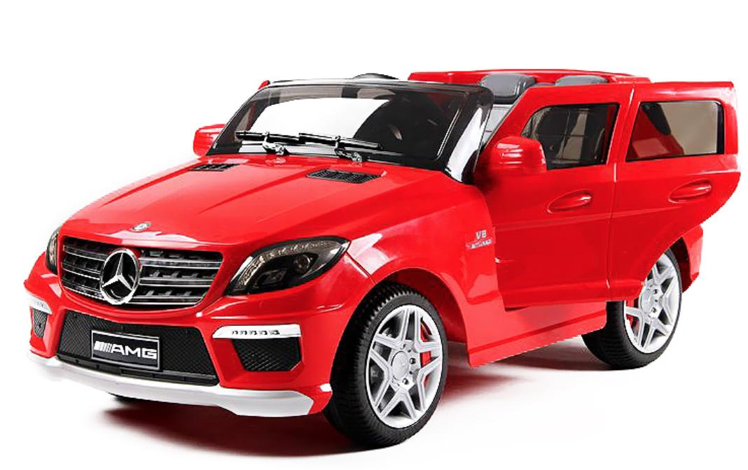 voiture lectrique mercedes ml63 amg 2x35w 12v rouge. Black Bedroom Furniture Sets. Home Design Ideas