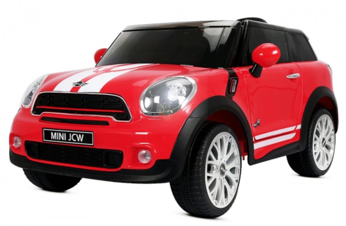 Voiture lectrique mini cooper paceman rouge 2x35w 12v - Coloriage voiture mini cooper ...