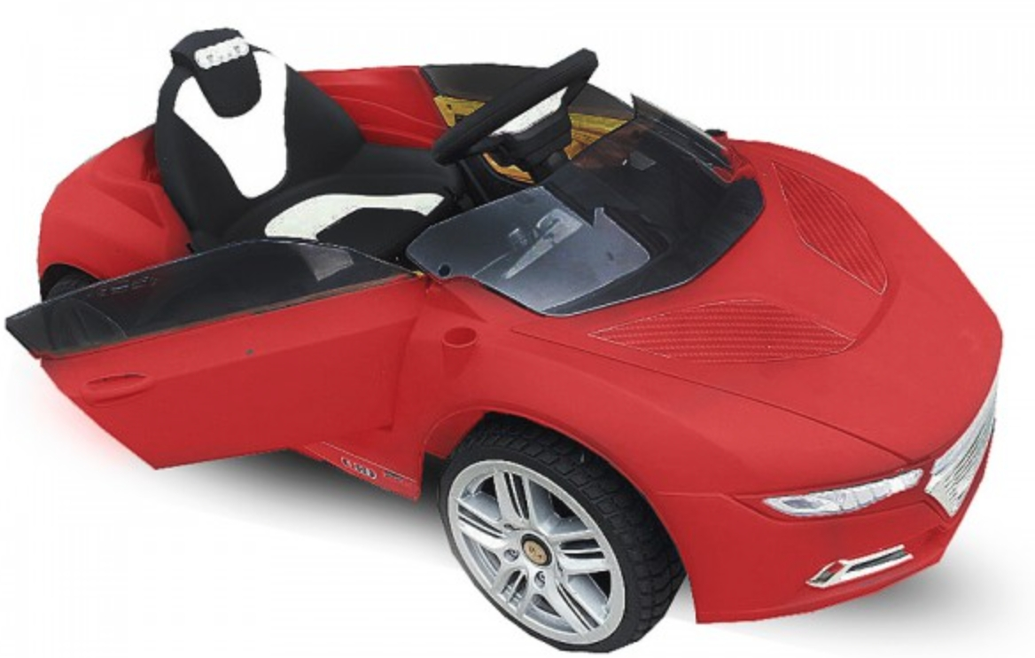 voiture lectrique roadster 2x30w 12v rouge. Black Bedroom Furniture Sets. Home Design Ideas