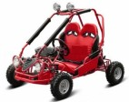 Buggy enfant 50cc automatique Sport rouge