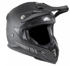 Casque adulte cross noir Xtrm Factory