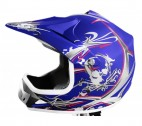 Casque Bleu Xtreme Speed
