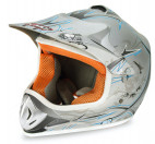 Casque enfant de cross gris mat Full sport