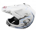 Casque Enfant Xtreme Cross Blanc