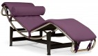 Chaise longue Simili Violet Karly