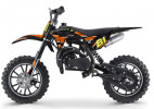 Moto cross enfant 50cc 2 Temps 10/10 orange Kobra