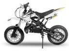 Dirt bike 49cc Apollo midi 10/10 e-start blanc