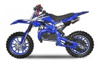 Dirt bike 49cc Apollo midi 10/10 e-start bleu