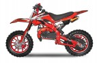 Dirt bike 49cc Apollo midi 10/10 e-start rouge