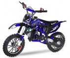 Dirt Bike 49cc Cheetah deluxe 10/10 bleu laqué