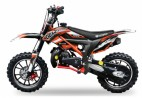 Dirt Bike 49cc Cheetah deluxe 10/10 e-start orange laqué