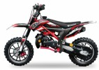 Dirt Bike 49cc Cheetah deluxe 10/10 e-start rouge laqué