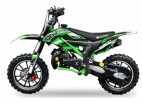 Dirt Bike 49cc Cheetah deluxe 10/10 e-start vert laqué