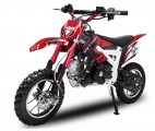 Dirt Bike 49cc Flash 10/10 e-start rouge