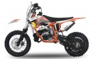 Dirt Bike 49cc NRG 12/10 9cv Kick starter automatique orange
