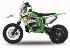 Dirt Bike 49cc NRG 12/10 9cv Kick starter automatique vert