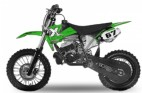 Dirt Bike 49cc NRG 14/12 Kick starter automatique vert