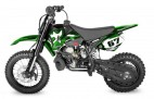 Dirt Bike 49cc NRG Racing hydraulique 12/10 automatique Kick starter vert