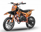 Dirt bike enfant 49cc 10/10 automatique orange
