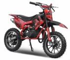 Dirt bike 49cc Serval 10/10 automatique rouge