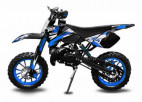 Dirt Bike 49cc Sport 10/10 automatique e-start bleu