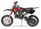 Dirt Bike 49cc Sport 10/10 automatique e-start rouge