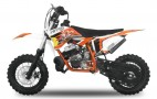 Dirt Bike 50cc NRG KTM 14/12 9cv freins hydrauliques orange