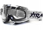 Lunette Moto cross Racing Blanc