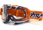 Lunette Moto cross Racing Orange