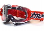 Lunette Moto cross Racing Rouge