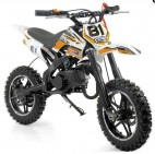 Mini Moto Cross Pocket 50cc 2T Orange Grande roue