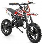 Mini Moto Cross Pocket 50cc 2T Rouge Grande roue
