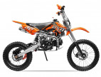 Moto cross 125cc Manuel 4 temps 17/14 Sprint orange