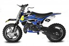 Moto cross 49cc Bull Bike 10/10 automatique bleu